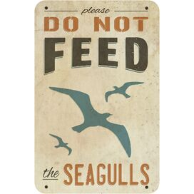 Do Not Feed Seagulls Indoor/Outdoor Wall Decor
