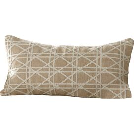 Emma Jute Lumbar Pillow Cover