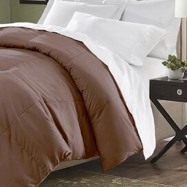 Connor Comforter in Chocolate