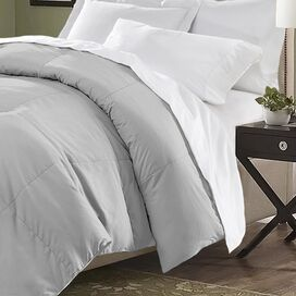 Connor Comforter in Platinum