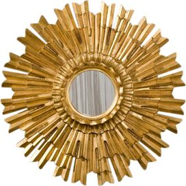 Sunburst Mirrored Wall Decor