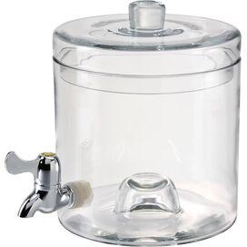 Stacking 1.25-Gallon Beverage Dispenser (Set of 2)