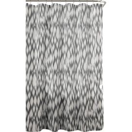Caitlin Shower Curtain in Grey