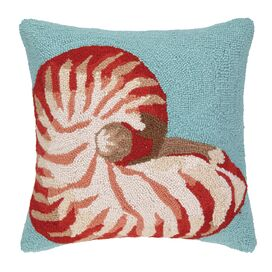 Sealife Hooked Pillow