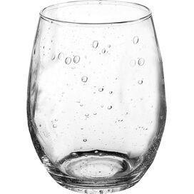Fizz 15-Ounce Stemless Wine Glass (Set of 4)
