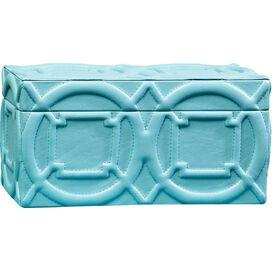 Talia Leather Trinket Box