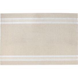Stripe Tea Towel in Beige