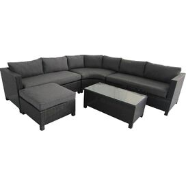 Barcelona Sectional Sofa in Gray