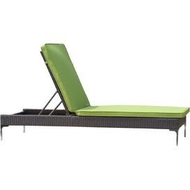Metro Patio Chaise in Green