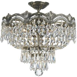 Mariana Crystal Flush Mount