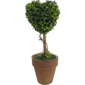 Faux Heart Topiary (Set of 2)