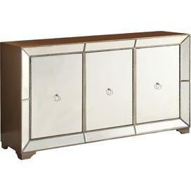 Lena Mirrored Console Table