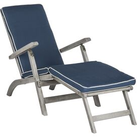 Palms Acacia Patio Chaise in Grey