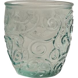 Mediterranean Wine Tumbler in Ice Clear (Set of 4)