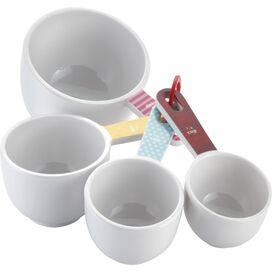 Cake Boss 4-Piece Melamine Measuring Cup Set