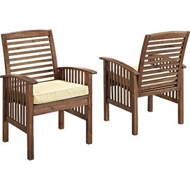 Isa Patio Arm Chair (Set of 2)