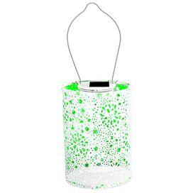 Stella Solar Hanging Lantern in Green