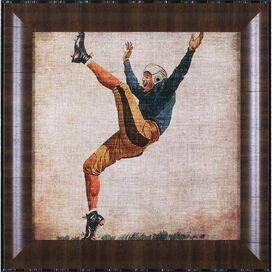 Vintage Sports V Framed Print