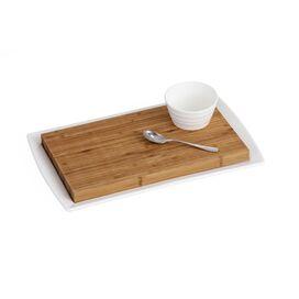 4-Piece Bamboo Board & Dipper Set
