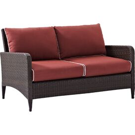 "Cassie 51"" Patio Loveseat"