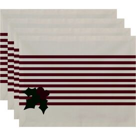 Holly Stripe Placemat (Set of 4)