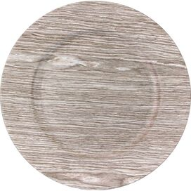 Faux Wood Charger Plate in Birch (Set of 4)