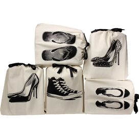 Bag-All 5-Piece Her Shoes Storage Bag Set (Set of 5)