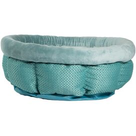Cuddle Pet Bed in Turquoise
