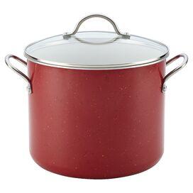 Farberware 12-Quart Stock Pot in Red