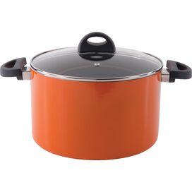 Eclipse Stock Pot in Orange