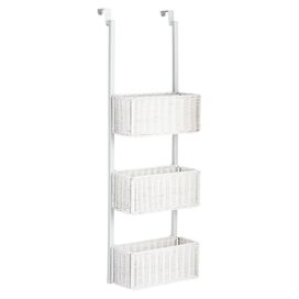 3-Basket Over-Door Shelf