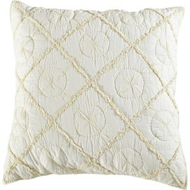 Country Pillow Sham in Ivory