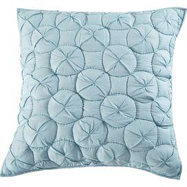 Waltz Pillow Sham in Pacific Blue