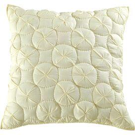 Waltz Pillow Sham in Ivory