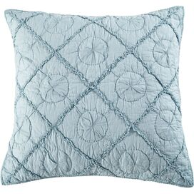 Country Pillow Sham in Pacific Blue