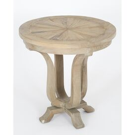 Stella Side Table in Gray Wash