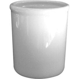 Porcelain Utensil Holder in White