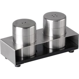 3-Piece Stainless Steel Salt & Pepper Shakers