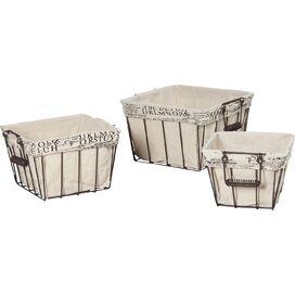 3-Piece Lexi Basket Set