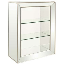 Lauren Mirrored Bookcase