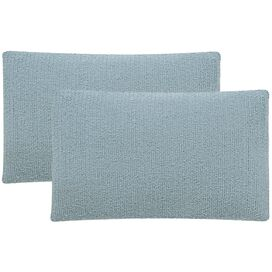 Nancy Indoor/Outdoor Pillow in Marine Baby Blue (Set of 2)