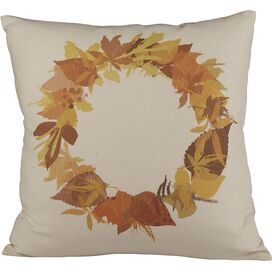Wreath Pillow Cover
