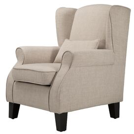 Stephen Arm Chair in Beige