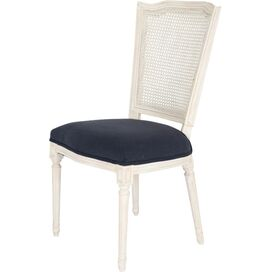 Malia Side Chair in Navy