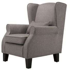Haelyn Upholstered Arm Chair in Grey