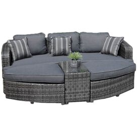 4-Piece Destiny Daybed Patio Seating Group