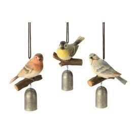 Perched Bird Garden Bell (Set of 3)