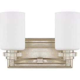 Ella 2-Bulb Vanity Light in Winter Gold
