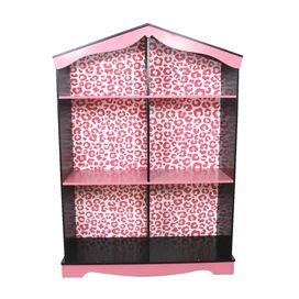 Leopard Print Bookshelf