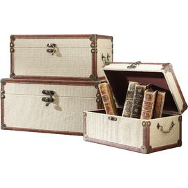 3-Piece Elizabeth Trunk Set
